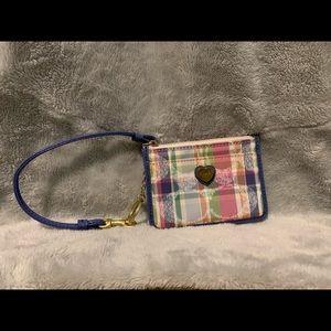 Plaid Coach wallet